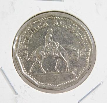 1964 Argentina 10 Pesos - High Grade