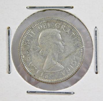 1964 Canada Silver Dime High Grade