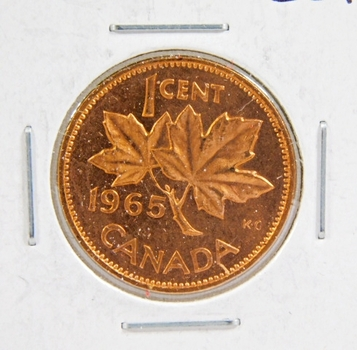 1965 Canada 1 Cent - Brilliant Uncirculated
