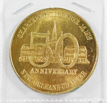 1966 50th Anniversary of New Orleans Chapter of the American National Red Cross Medallion