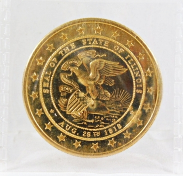 1968 Illinois Sesquicentennial Medallion