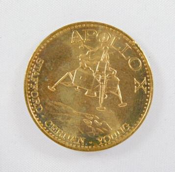 1969 Apollo X Rocket: Saturn V Medal