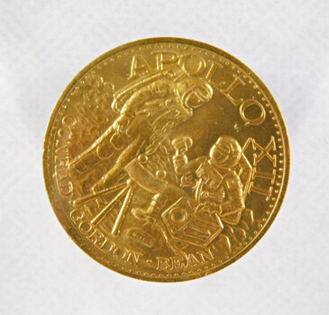 1969 Apollo XII Space Commemorative Coin/Medal