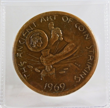 1969 Bronze Medallion*The Ancient Order of Coin Striking