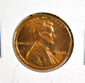 Lot of Four (4) Lincoln Memorial Cents:1970, 1982 Zinc (lg date),1982-S, and 1982-D Zinc (sm. date) All are Brilliant Uncirculated - Red