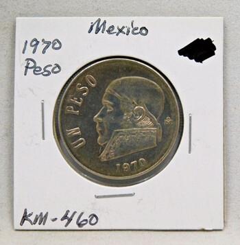 1970 Mexico Peso High Grade