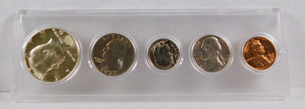 1970 Uncirculated Set Includes 1970-D Silver Half Dollar KEY DATE