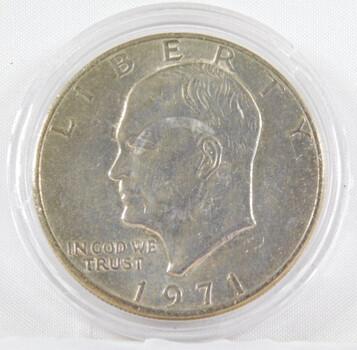 1971 Eisenhower Dollar High Grade