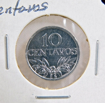 1971 Portugal 10 Centavos*Brilliant Uncirculated