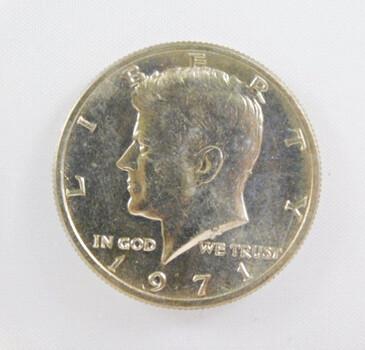 1971 Uncirculated Kennedy Half Dollar