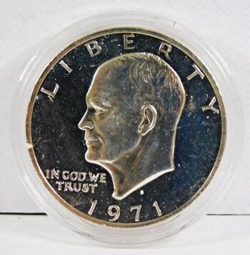 1971-S Silver Proof Eisenhower Dollar