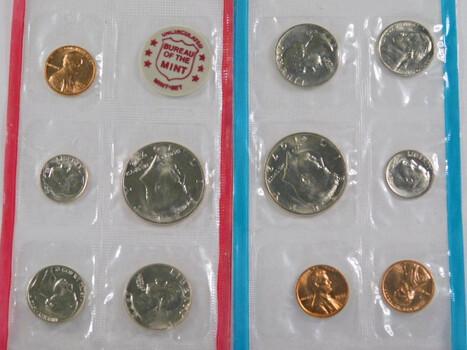 1972 Mint Set Cent- Half Dollar 11 Coins