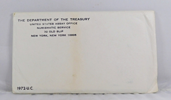 1972 United States Mint Uncirculated Coin Set*In Original Mint Packaging