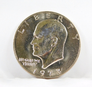 "1973 High Grade Eisenhower ""IKE"" Dollar*In Protective Capsule"