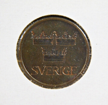 1973 Sweden 5 Ore High Grade