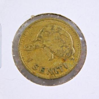 1974 Tonga 1 Seniti - Nice Detail