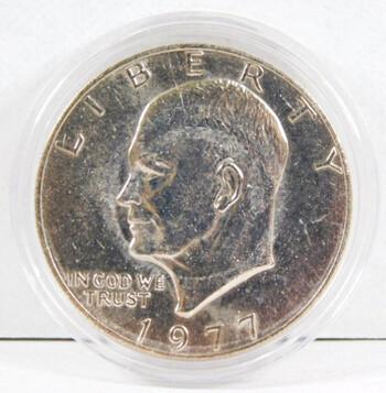 1977 Eisenhower Dollar High Grade