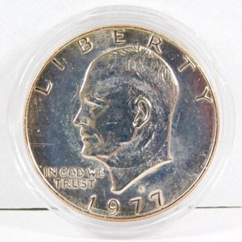 1977-D Eisenhower Dollar High Grade