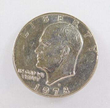 1978-D Eisenhower Dollar High Grade