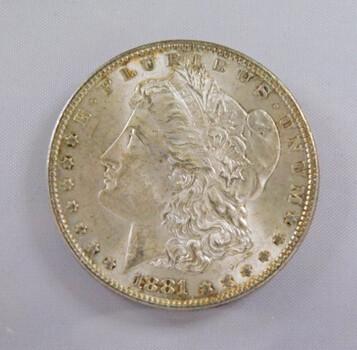1981 Morgan Silver Dollar High Grade
