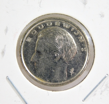1990 Belgium 1 Franc - High Grade