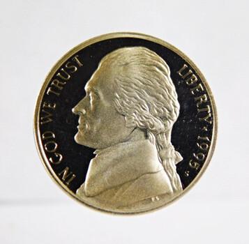 1995-S Proof Jefferson Nickel