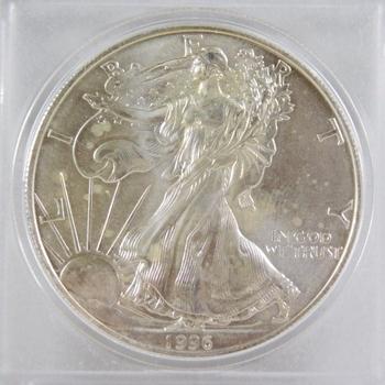 1996 American Silver Eagle*1oz .999 Fine Silver*In Protective Capsule