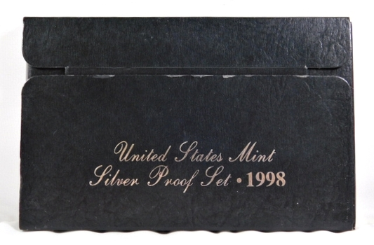 1998 United States Mint Silver Proof Set - In Original Mint Packaging