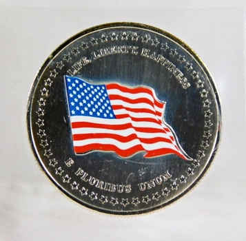 2001 225th Anniversary of the United States Medallion*Colorized