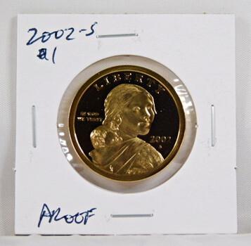 2002-S Sacagawea 1 Dollar Proof Coin