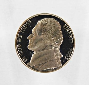 2003-S Proof Jefferson Nickel*DCAM