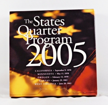 2005*The States Quarter Program*Each State's Commemorative Quarters (P & D) in Individual Package*NICE!