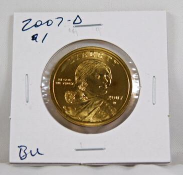 2007-D Sacagawea 1 Dollar Uncirculated Coin