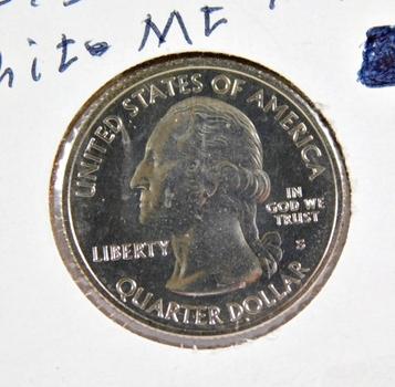 2009-D & P Guam and 2013-S White Mtn, NH Commemorative Quarters