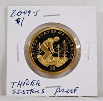 2009-S Sacagawea 1 Dollar Proof Coin Three Sisters