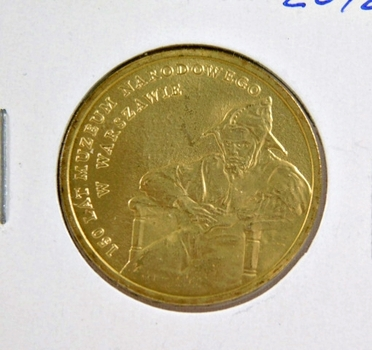 2012 Poland 2 Zlote - National Museum in Warsaw - Brilliant Uncirculated