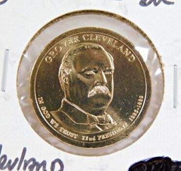 2012-P Uncirculated Grover Cleveland Commemorative Presidential Dollar
