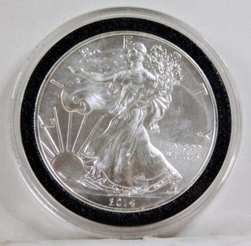 2014 American Silver Eagle*1oz .999 Fine Silver*In Protective Capsule