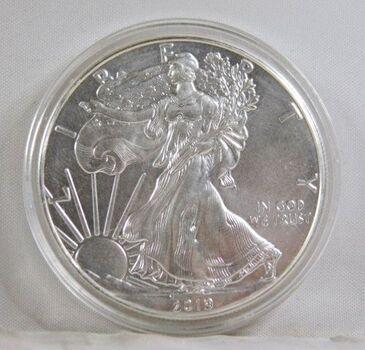 2019 American Silver Eagle*In Protective Capsule*1oz .999 Fine Silver