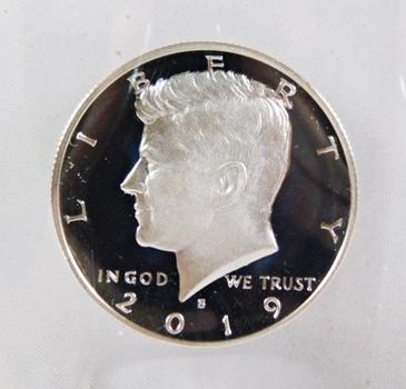 2019-S Proof Kennedy Half Dollar*DCAM