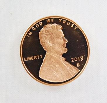 2019-S Proof Lincoln Shield Commemorative Cent*DCAM