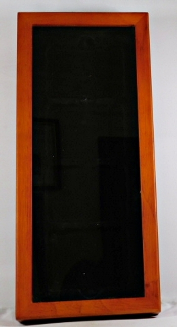 """6"""" x 13"""" Glass and Wooden Case*Magnetic Closure*Very Nice*Held Numismatic Graded Coins/Slabs"""