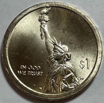 2018-P American Innovators - Statue of Liberty - Commemorative Dollar - High Grade
