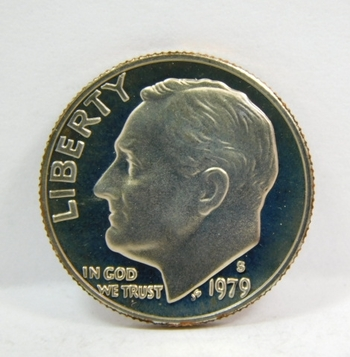 1979-S Proof Roosevelt Dime