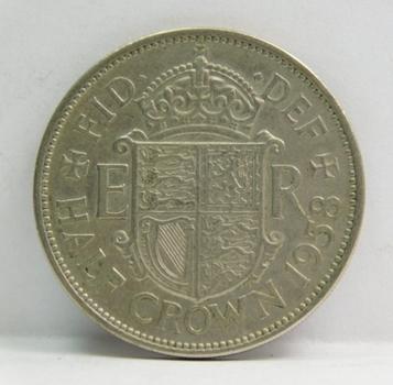 1958 Great Britain Half Crown