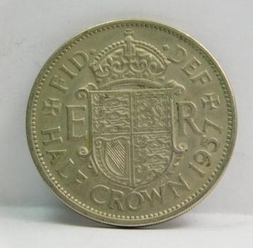 1957 Great Britain Half Crown