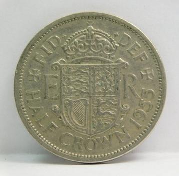 1955 Great Britain Half Crown