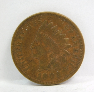 HIGH GRADE - 1902 Indian Head Cent - Excellent Detail - LIBERTY Fully Visible