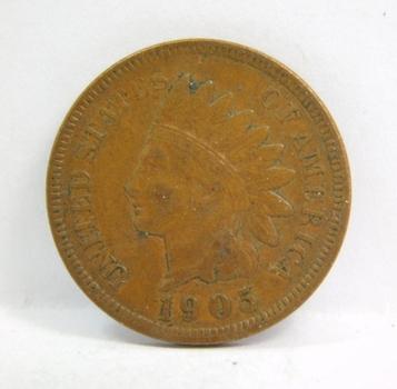 1905 Indian Head Cent - Full LIBERTY - Nice Higher Grade