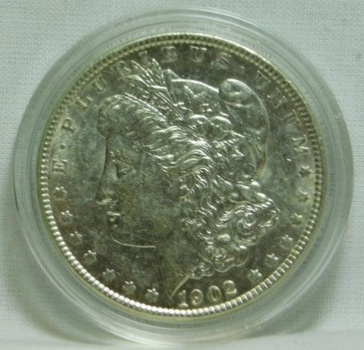 HIGH GRADE!!  1902 Morgan SILVER Dollar - Excellent Detail and Luster!!